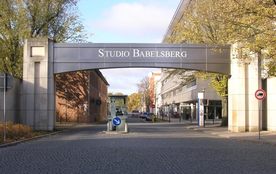 Eingangtor Filmstudio Babelsberg