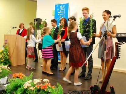 Jugendweihefeier in Bad Berka 2013 - Blumenkinder