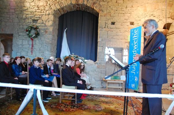 Festredner bei der Jugendweihe in Kranichfeld