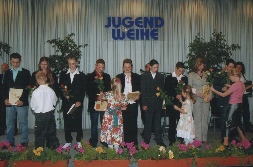 Jugendweihefeier in Weimar